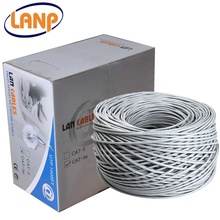 빛 Grey PVC 칼집 실 내용 Unshielded Twisted Pair <span class=keywords><strong>UTP</strong></span> <span class=keywords><strong>Cat5e</strong></span> Cable 305 메터 <span class=keywords><strong>CCA</strong></span>