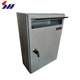 Wholesale custom design stainless steel free standing decorative antique metal mailbox