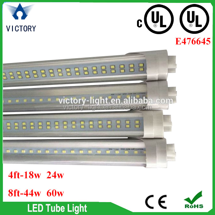 USA warehouse UL listed 96inch led tube 8ft G13 Two Pin 44w 60w led tube light 8ft UL