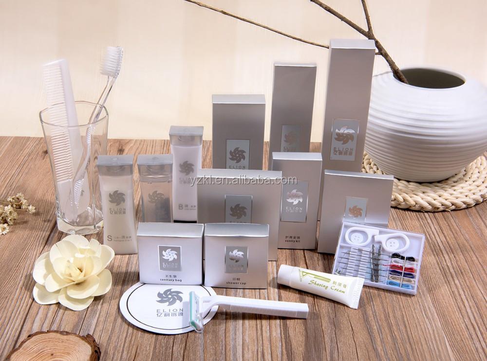 mini htel de toilette packs quipement set pour les htels de luxe cinq toiles - Kit Salle De Bain Pour Hotel