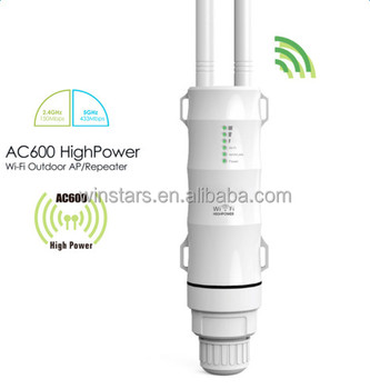 802.11AC High Power AC600 Outdoor Dual Band Wireless WiFi Access Point Router CE FCC Fully Certified
