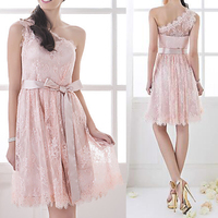 Pink bridesmaid dress patterns short dresses wedding