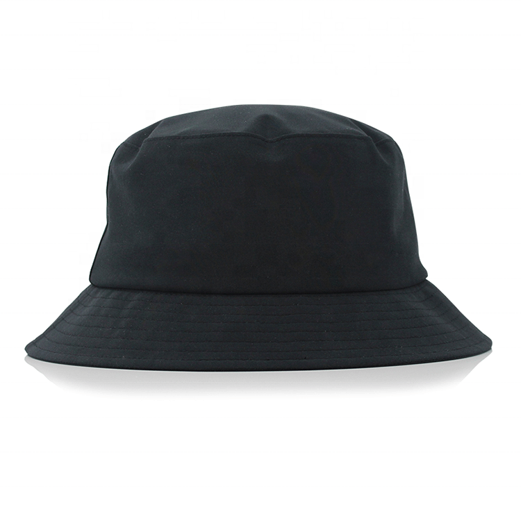 Factory Wholesale Cheap Nylon Fabric Contains HeatTransferSeal Seam Band Waterproof Fashion Bucket Hats