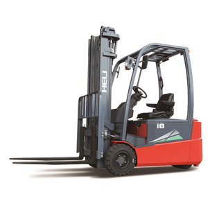 best forklift brand Heli electrical three wheel forklift CPD18 1.8ton