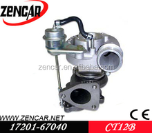 K18 material CT12B for turbo 17202-67050