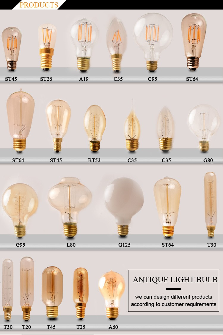china products 185mm 300mm t30 vintage tube lighting. Black Bedroom Furniture Sets. Home Design Ideas