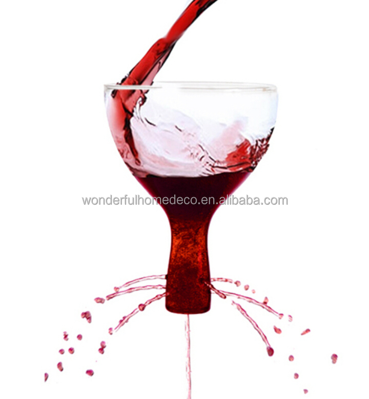 high quality lead-free glass wine decanter