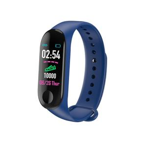2019 Factory price Heart rate monitor pedometer fitness tracker cheap m3 smart watch band bracelet