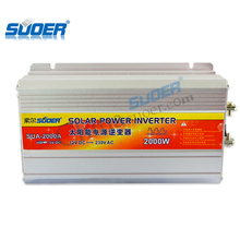 Suoer Factory price 220v 50hz 110v 60hz inverter 12v 2000w smart fast solar inverter power inverter