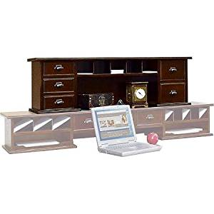 Midtown Petite Hutch for Midtown Writing Desk, Cherry