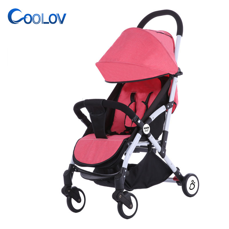 Aluminium alloy lightweight foldable china baby stroller factory