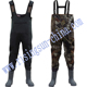 4mm Camo Neoprene Hunting Wader Chest Wader Outdoor Hunting Wader with Rubber Boots Adult Winter Fly Fishing Wear