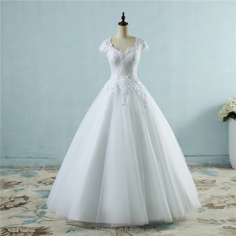 Wedding Dress With Short Sleeves, Wedding Dress With Short Sleeves ...
