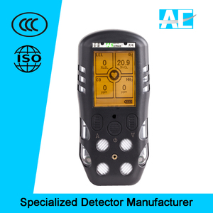 4 in 1 portable multi flue gas analyzer with pump