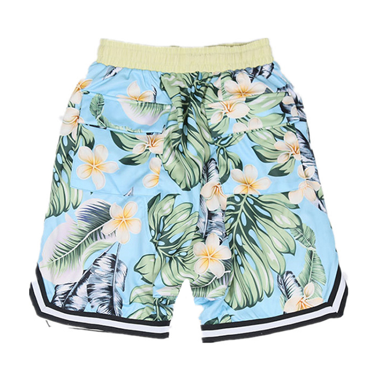 Custom Casual All Over Printed Track Mesh Shorts Men