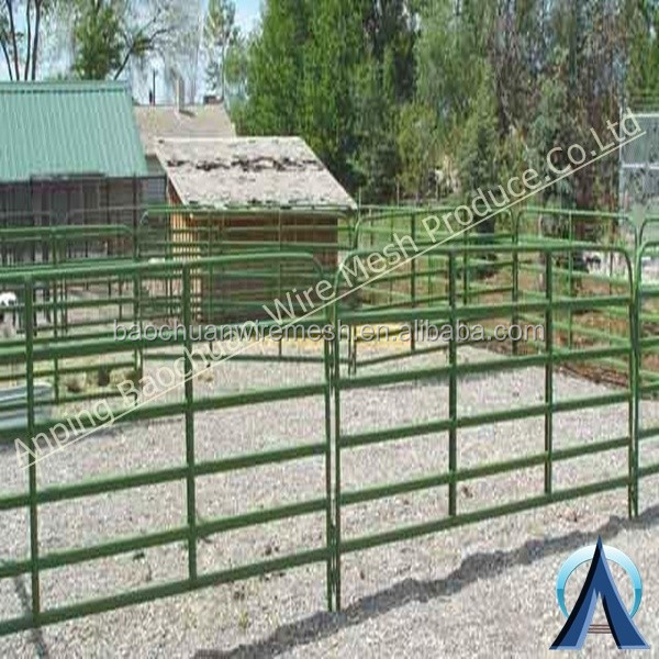 Baochuan factory---Galvanized Farm Livestock Corral Cattle