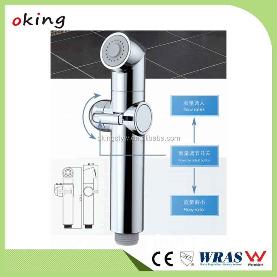 Abs Plastic Toilet Hand Held Bidet Spray Vertical And Bubble Water ...