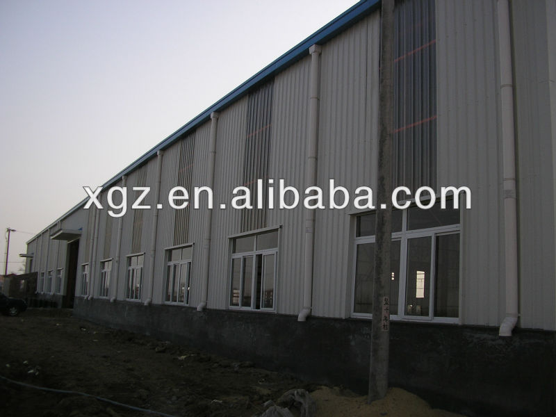 China Qualified Steel Structure Workshop/Warehouse/Storage/Shed Building Design