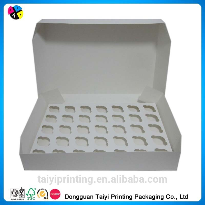 2014 Cheap printing food grade blister cake packaging