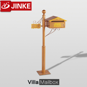 My Alibaba Mail Box,New Unique Design Waterproof Metal Standing Mailbox