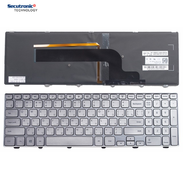 NEW Dell Inspiron 15-7000 Series 15 7000 7537 Keyboard US Layout Backlight