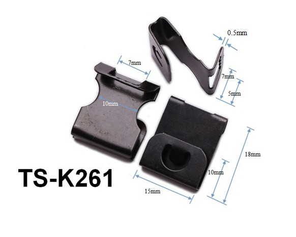 Ts-k103 Clip-over Hanger 2 & 3mm Boards Black 15*18mm/photo Frame ...