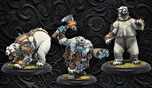 Hordes: Trollbloods: Northkin Bear Handler & Battle Bears