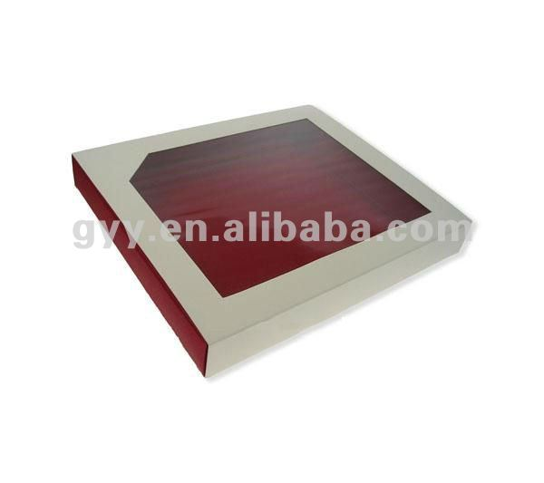 2012 GYY Apparal paper box with window