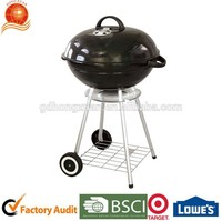 Floralbest Weber Style Outdoor Professional Factory Enamel Barbecue Grill