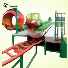 LS-GAME Equipamento Do Parque De Diversões Ao Ar Livre Indoor Mini Roller Coaster Trilha do <span class=keywords><strong>Trem</strong></span>