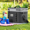 ODM BX001RockBros Ice Soft Cooler 18L 20 Can Durable Portable Airtight Leak-proof Insulated Outdoor Car Camping Picnic Box Bag