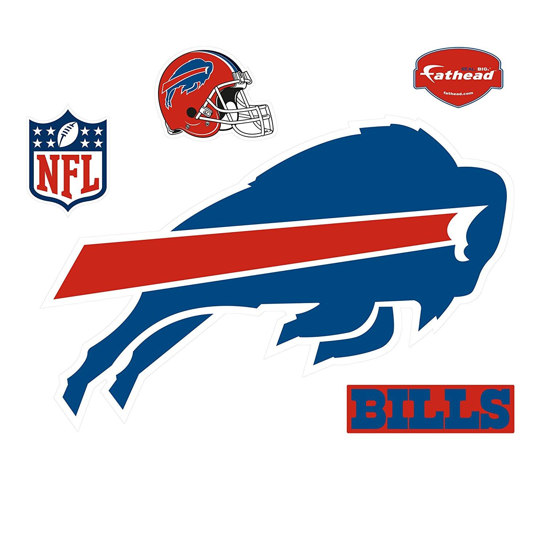 NFL Buffalo Bills Logo Wall Decal