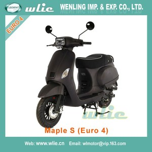 2018 New used 50cc gas scooters 49cc united motorcycle Euro4 EEC 50cc, 125cc Scooter Maple-S (Euro 4)