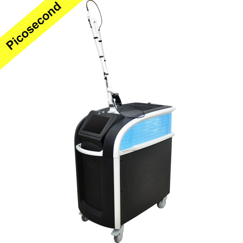 CE approved painless tattoo removal pore removal picosecond laser machine