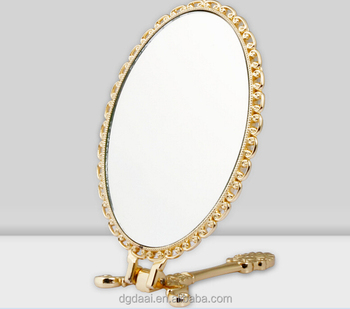 Superbe Hand Hold Fancy Small Table Standing Mirror   Buy Stand Up Table  Mirrors,Hand Mirror With Stand,Hand Hold Table Mirror Product On Alibaba.com