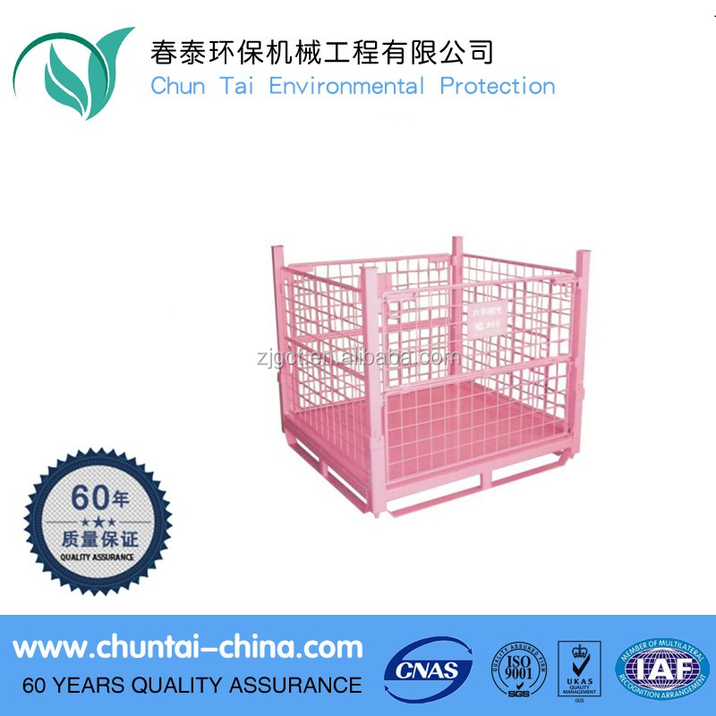 Good Price Heavy Duty Wire Mesh Pallet storage metal cage