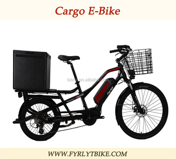 Newest 2 Wheel Cargo Ebike For Heavy Loading Fast Food Delivery Bicycle -  Buy Food Delivery Bicycle,2 Wheel Cargo Ebike,Heavy Loading Tricycle Cargo