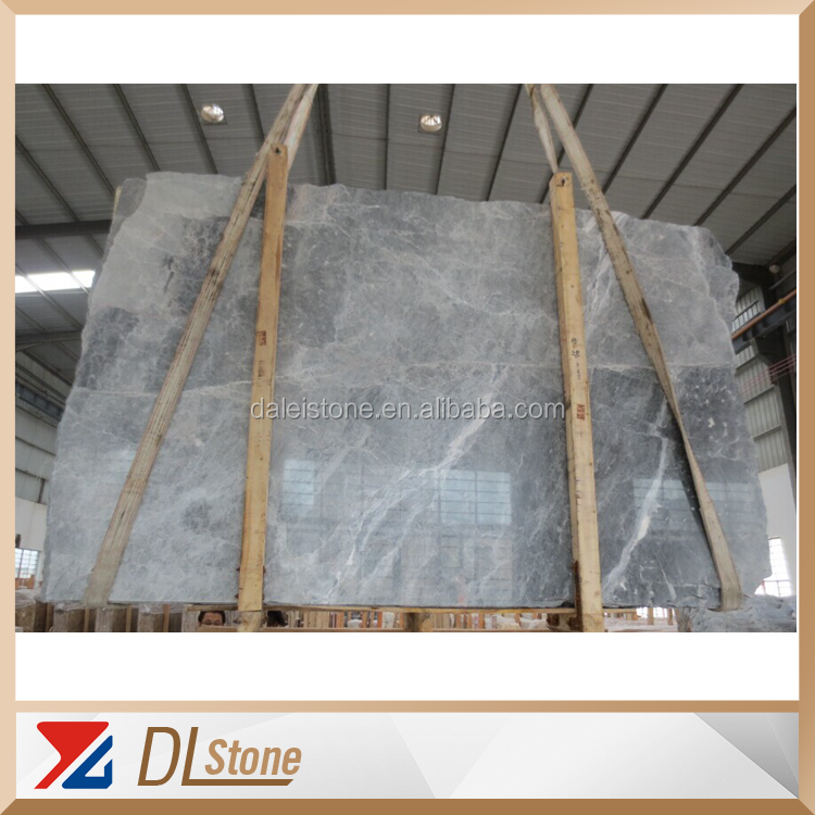 China Cheap Silver Grey Marble Tile Slab Marble Slab Table Top