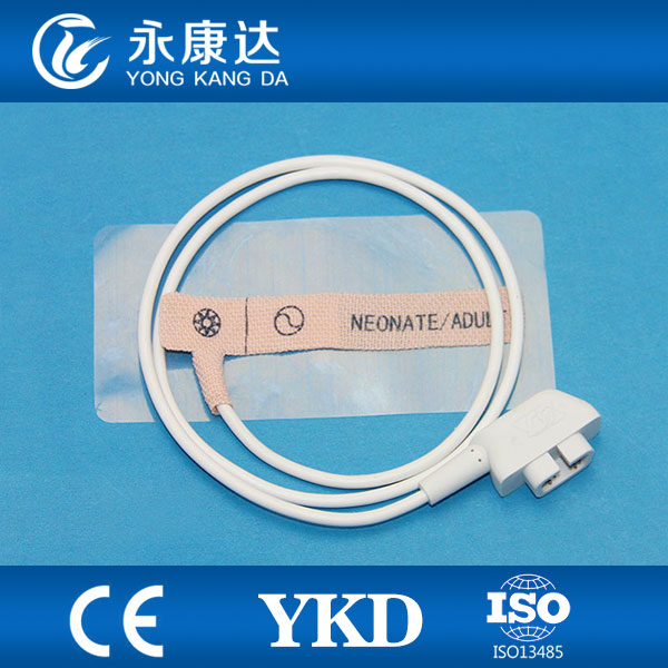 Criticare neonatal disposable spo2 sensor with non-woven favrice/white foam for pulse oximet