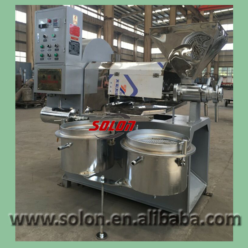 Hydraulic Auto Baobad Cooking Food Soybean Oil Expeller Extraction Maker Machine