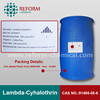 Insecticide Lambda Cypermethrin+acetamiprid+emamectin benzoate 10%+10%+5% WP