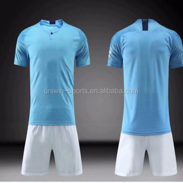 1290e4e9b4765 Profesional adultos Club de fútbol camisetas juegos ajuste seco fútbol  deportes uniformes ...