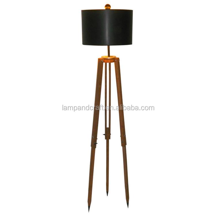 Top Sell In Australia Saa 3 Legs Wooden Tripod Floor Lamp ...