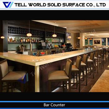 china membuat u berbentuk mewah kayu bar counter cafe bar desainchina membuat u berbentuk mewah kayu bar counter cafe bar desain
