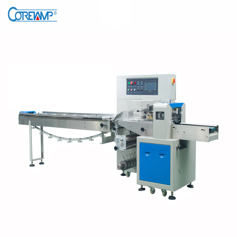 Down Roll Film Automatic Pillow Horizontal Packing Machinery