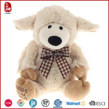 Wholesale Minion Plush Sheep Toy With Ribbon Stuffed Sheep Buy