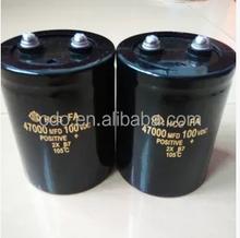 capacitor 47000uf 100v capacitor 100v