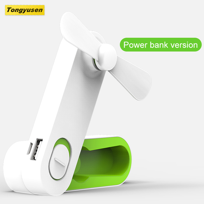 Provide model 2000mah powerbank rechargeable handy fan portable mini electric hand fan for Home and Travel Class