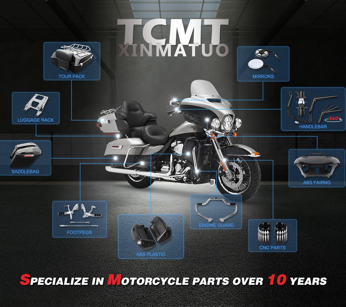 Automotive XMT-MOTO Aluminum Front Upper Fairing Stay
