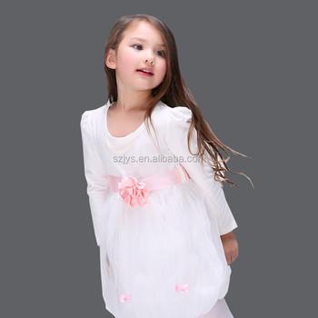 2a25262512d Детская одежда новое модное милое белое длинное платье принцессы вечерние  вечеринки